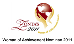 Woman of Achievement Nominee 2011